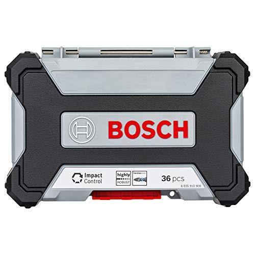 Kit de Pontas e Soquetes Bosch para Parafusar com 36 unidades Impact Control
