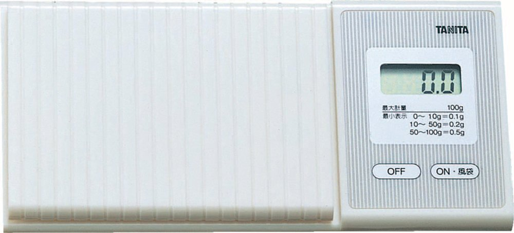 Tanita pocketable scale Handy mini 100g white 1476-WH