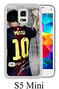 Soccer Player Lionel Messi 67 White Fashion Design Customized Picture Samsung Galaxy S5 Mini Case