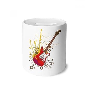 DIYthinker Guitarra eléctrica Jazz Cultura Caja de Dinero de Las ...