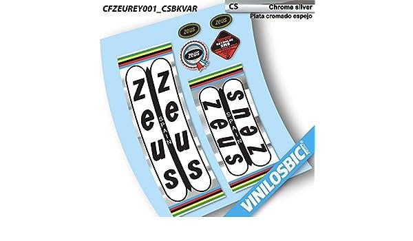 Zeus Vinilos Bici Clasica vinilosadhesivos, para Cuadro: Amazon.es ...