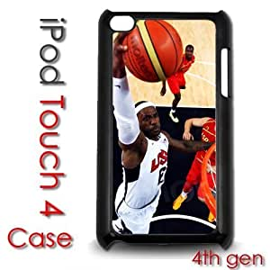 For Case Iphone 4/4S Cover Plastic Case - Lebron James Miami Heat Champions