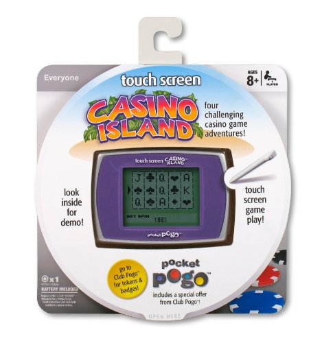 (Parker Brothers Casino Island Touch Screen Pocket Pogo)