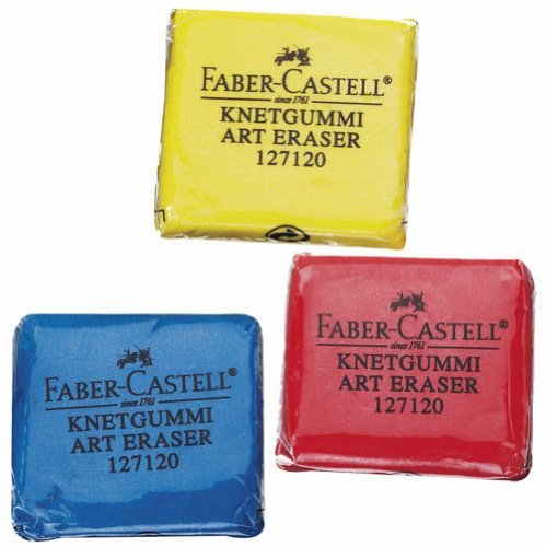 Kneadable Eraser From Faber Castell, Package of 18