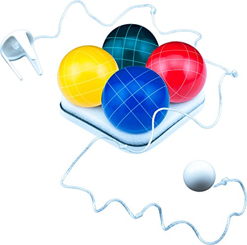 Park & Sun Sports Bocce Ball Set with Deluxe Carrying Bag: Tournament Elite, 100 mm Poly-Resin Balls by Park & Sun Sports (Image #5)