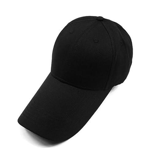JOJOO Extra Long Bill Baseball Cap Adjustable Cotton Sun Hats for Men and  Women (Adjustable 332a47bbad6d