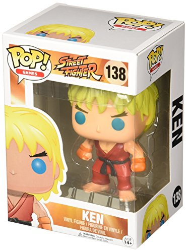 POP! Vinilo - Games Street Fighter Ken