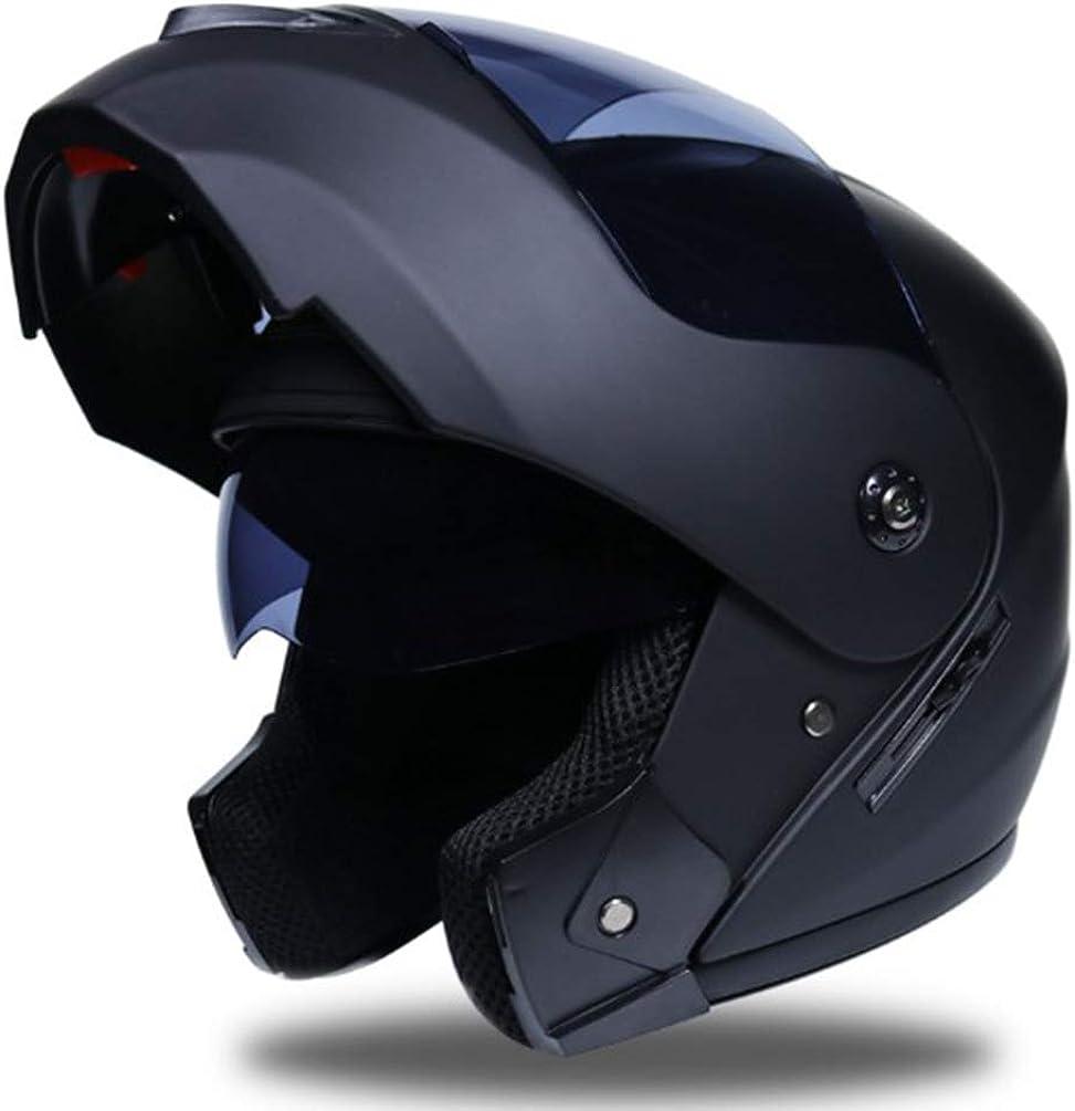 Yujeet Cascos de Moto Hombres y Mujeres Moto Casco Integral Casco Abatible