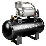 omega train horn - AC-1.5 - High output air compressor for air horn & train horn assemblies