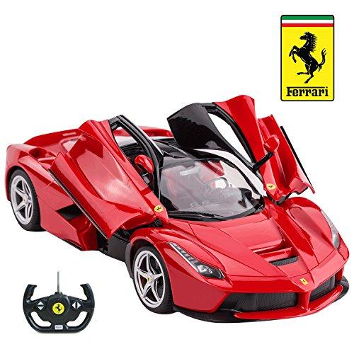 Rastar R/C Car 1:14 Scale Ferrari LaFerrari | Licensed Radio Remote Control 1/14 RTR Super Sports Car Model
