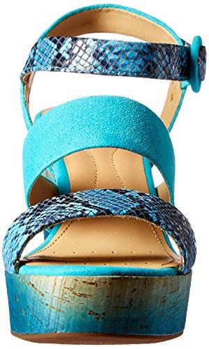 Geox Sandalias y Chanclas Para Mujer, Color Azul, Marca, Modelo Sandalias Y Chanclas Para Mujer Jaleah Azul Azul