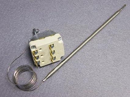 Termostato: 55.34032.300 FALCON,LINCAT,Moorwood Vulcan, Freidora Termostato de Control: Polo Triple 130c - 190c Sensor ...