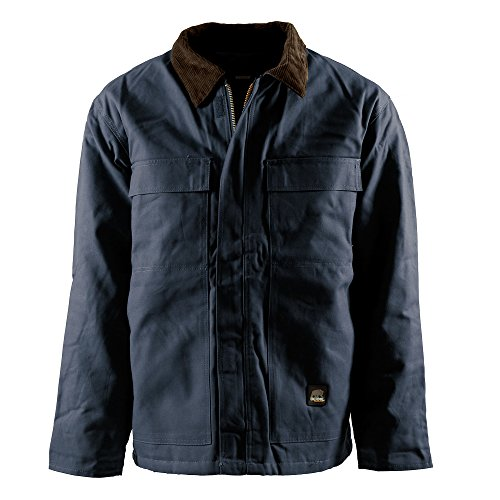 Men's Berne Apparel Regular Original Chore Coat, NAVY, 6XLT