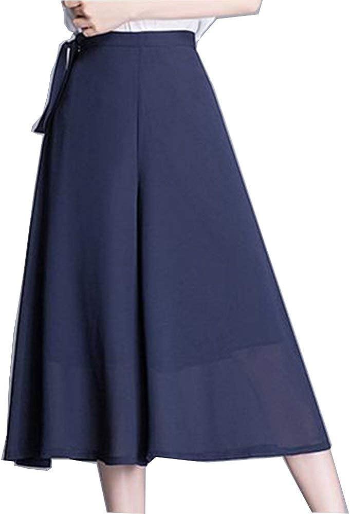 Screenes Falda Pantalon Mujer Verano Elegantes Pantalon Color ...