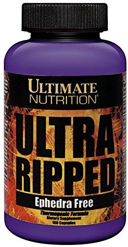 Ultimate Nutrition Ultra Ripped Metabolic Enhancer Supplement for Men & Women- 180 capsules