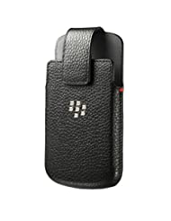 BlackBerry ACC-60088-001 Leather Swivel Holster Case for Blac...