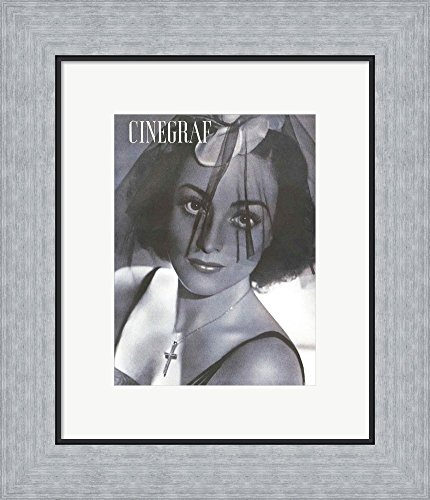 Amazon.com: Joan Crawford CINEGRAF Magazine Framed Art Print Wall ...