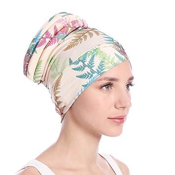 Amazon.com : eroute66 Colorful Women Islamic Muslim Hijab Turban Hat Headwrap Scarf Cover Chemo Cap - Beige : Beauty