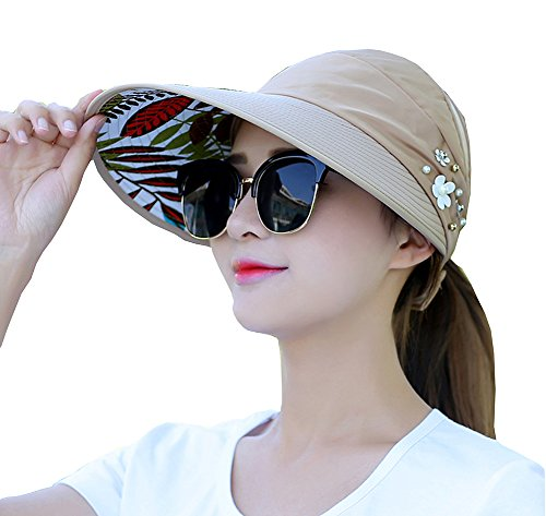 GSKids Ladies Outdoor Casual Anti-UV Foldable Sun Hat Not Contain - Glasses Hathaway Anne