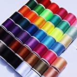 45 spools Sewing Thread Kits Polyester for Hand