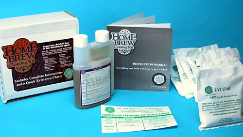 Five Star Homebrew Cleaning Kit 5 Star Sanitizer Cleaner Pbw - Pbw Five Cleaner Star