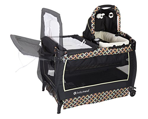 Baby Trend Twin Nursery Center Circle Tech Import It All