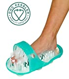 Doc Kessler Easy Reach Foot Spa - No Bend Foot Cleaning Bristle Scrubber Massager