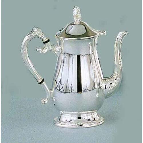 Leeber 89809 Romantica Coffee Pot Silver Plate-Tarnish ()