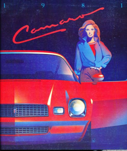 ORIGINAL 1981 CHEVY CAMARO DEALERSHIP SALES BROCHURE - Includes Sport Coupe, Berlinetta Coupe, Z28 Coupe. Shows Engines, Transmissions, Colors, Accessories, Features, Stereos, Options, Interior, Specifications, etc..All Models pdf epub