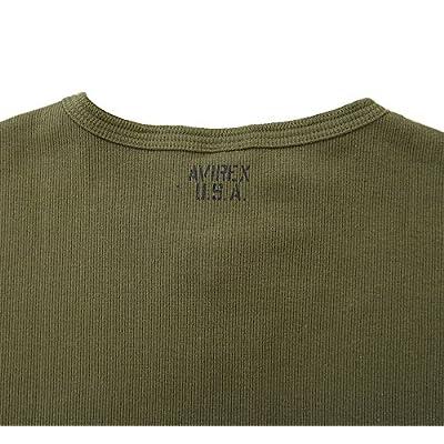 (アビレックス) AVIREX デイリー ヘンリーネック 半袖 Tシャツ