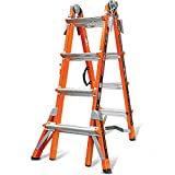 Little Giant Ladder Systems 15144 300-Pound Duty Rating Conquest Adjustable Ladder