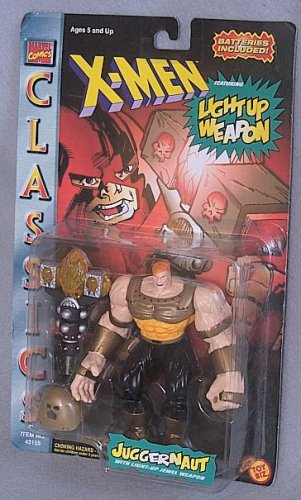 X-Men Classic Light-Up: Juggernaut (Gold Repaint) Action Figure