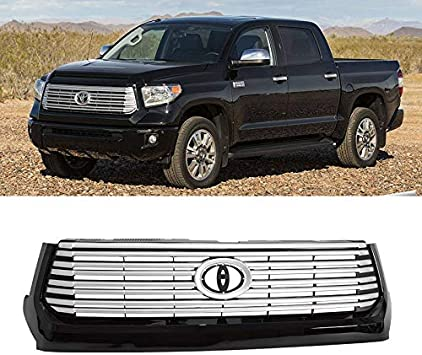 Hunter Premium Truck Accessories Stainless Steel Grille Guard Fits 08-14 Toyota Sequoia 07-13 Toyota Tundra
