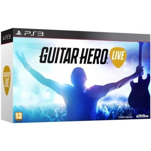 Guitar Hero Live (Game And Guitar) Sony PS3 (New) by Salman Store