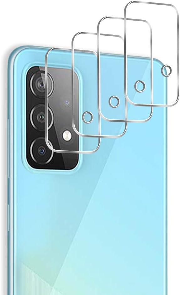 4 Vidrios Templados Para Camara Samsung A52 Pulen