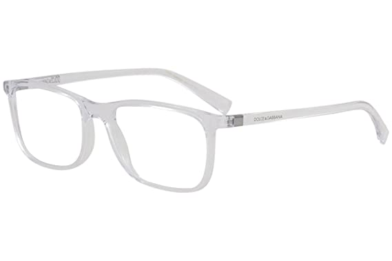 da44c0fb790 Image Unavailable. Image not available for. Color  Eyeglasses Dolce Gabbana  DG5027 3133 transparent frame ...