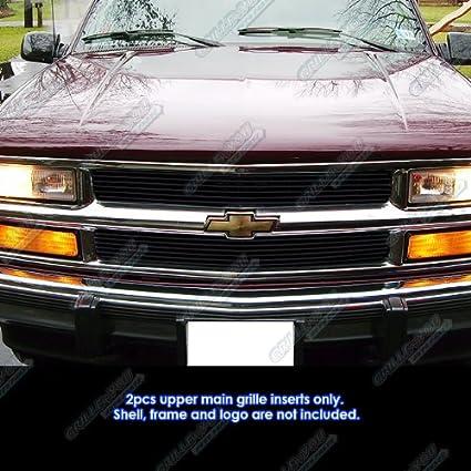 Amazon APS 94 99 Chevy Blaze C K Pickup Suburban 95 Tahoe Black Billet Grille Grill Automotive