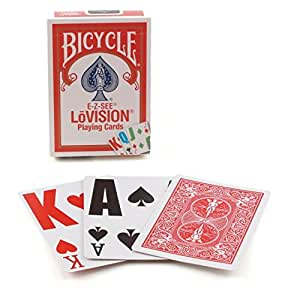 Bicycle E-Z See/Lo- Vision Playing Card Deck by Bicycle