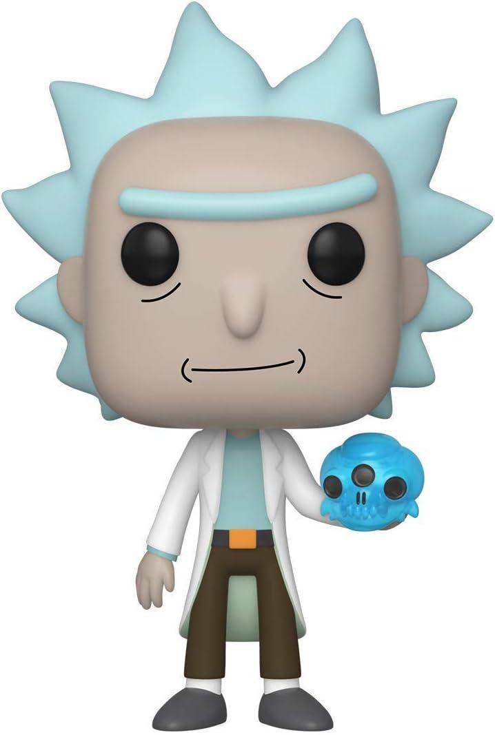 Multicolor Rick Purge Suit Morty Collectible Figure Funko 40247 POP Animation