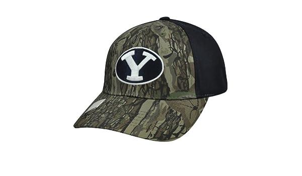 NCAA Brigham Young pumas novato camuflaje curvas ajustables Bill ...