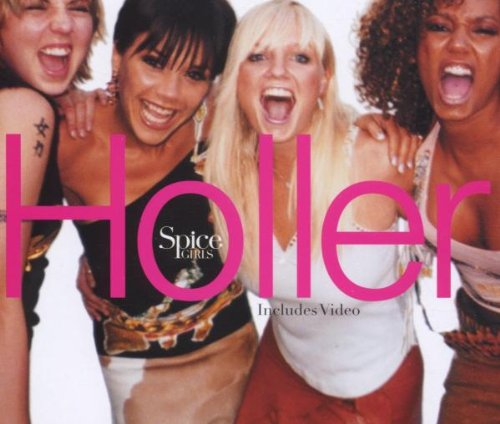 Holler/Let Love Lead The Way [UK CD1] / Audio CD