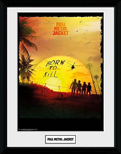 Full Metal Jacket Born To Kill - Mounted & Framed Print - 44