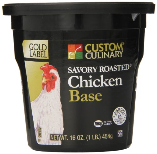 (Custom Culinary Gold Label Base Savory, Roasted Chicken, 1)