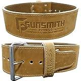 Gunsmith Fitness Shibusa Cinturón de lastre Fabricado a Mano Premium 10cm de Ancho por 10mm de Grosor –…
