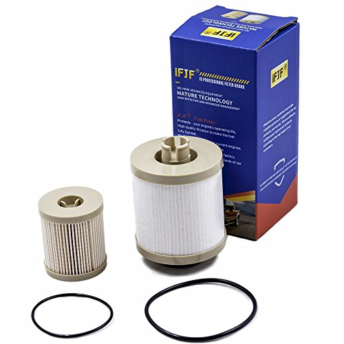 FD-4616 Fuel Filter Includes Lower Lifter Pump Filter and Upper Fuel Bowl Filter for Ford 6.0L V8 2003-2007 4604 Replacements Diesel Fuel Filter F250 F-250 F350 F-350 F450 F-450 F550 F650 EXCURSION
