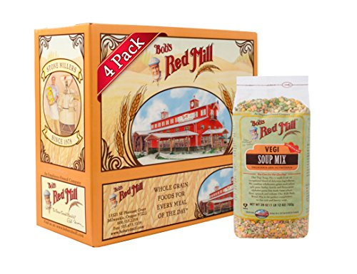 - Bob's Red Mill Vegi Soup Mix, 28 Oz (4 Pack)