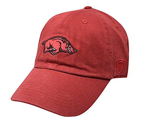 Elite Fan Shop Arkansas Razorbacks Hat Icon Red - Adjustable - Cardinal