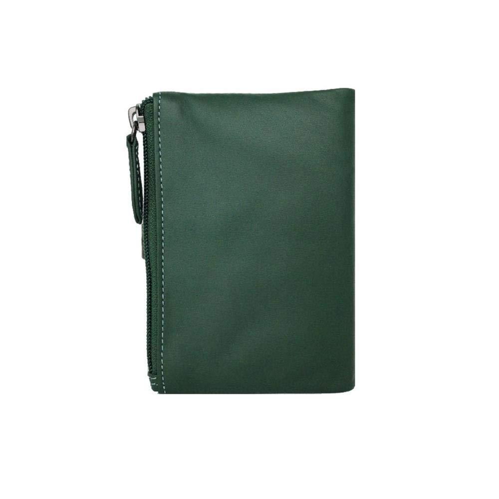 Adapell, Cartera Mujer en Piel napa 100%, Verde, Medidas 14.5 X 10 cm: Amazon.es: Equipaje