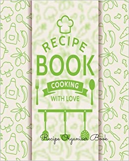 buy recipe organiser book journal notebook recipe keeper