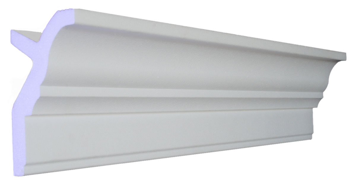 48 Ft of 3.5' Angelo Foam Crown Molding room kit W/precut corners on end of lengths (AVAILABLE IN 5 OTHER STYLES AND QUANTITIES-SEE OUR OTHER LISTINGS) by Austin Crown Molding